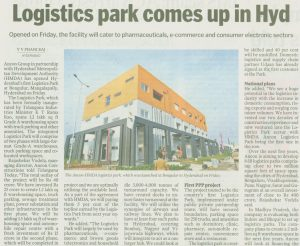 Logistics park in hyderabad